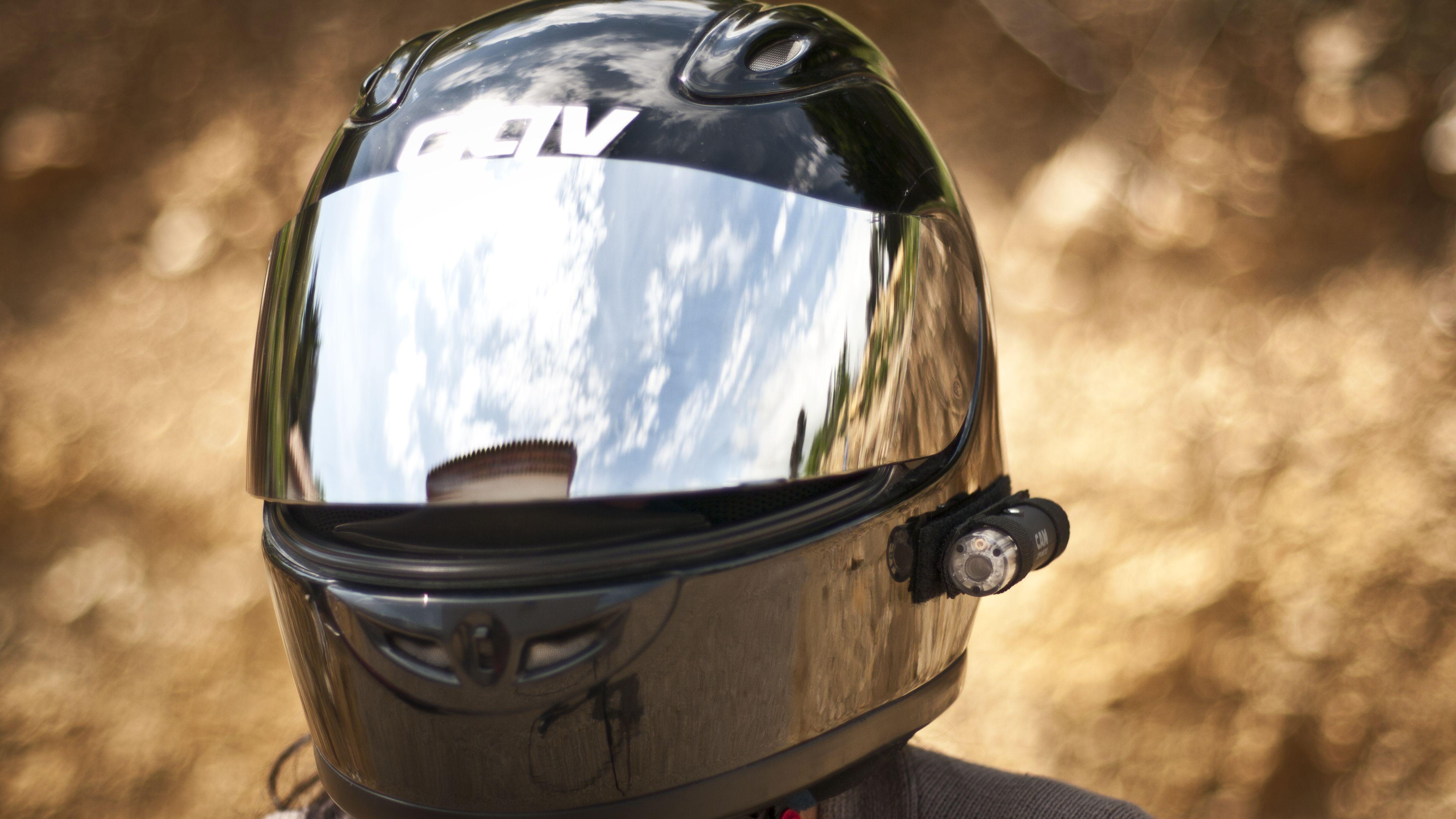 Camera casque moto