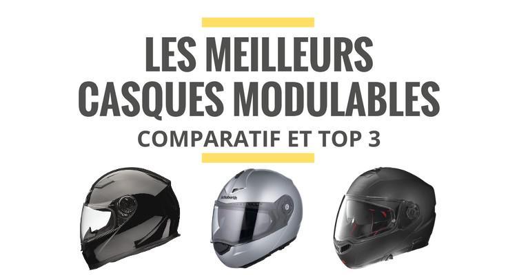 Comparatif casque moto