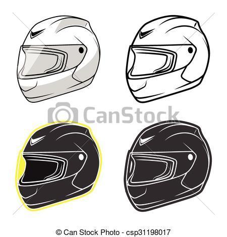 Dessin casque moto